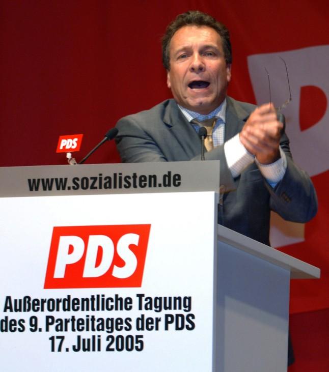 PDS-Sonderparteitag - Rede Ernst