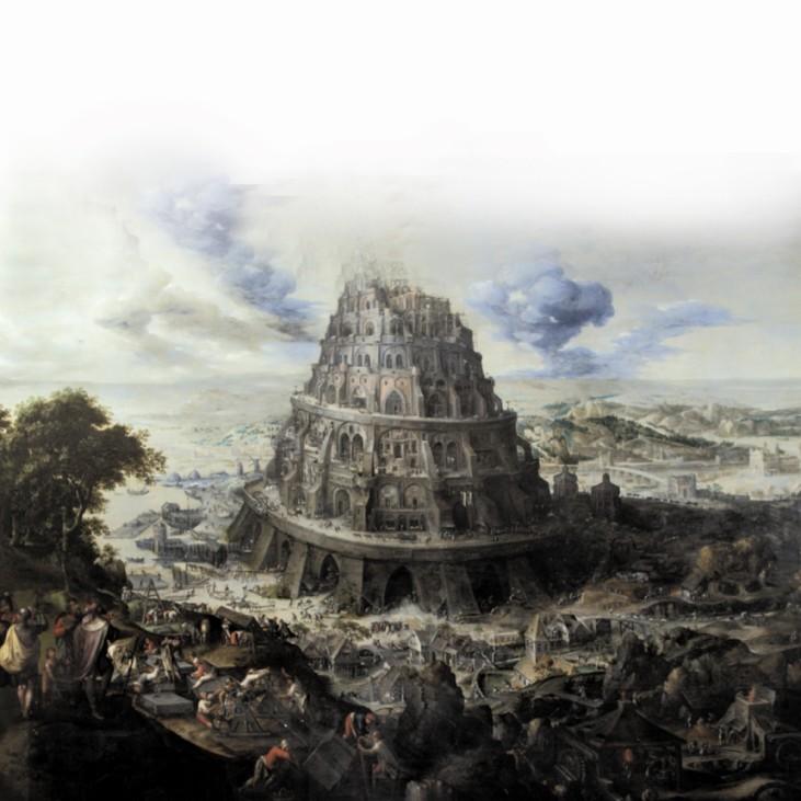 Maarten Van Valckenborch (1534/35-1612), The Tower of Babel, c. 1595, Gaasbeek Castle