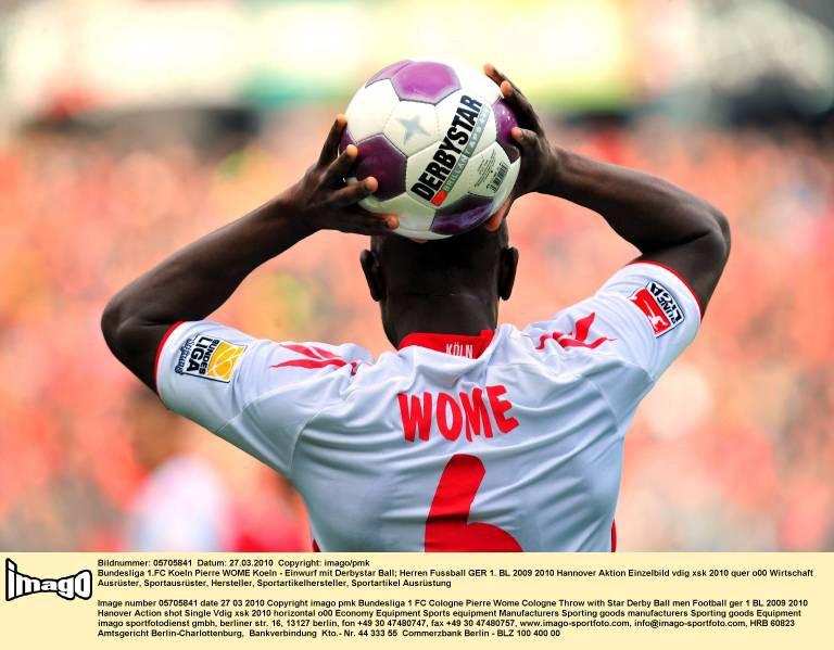 Pierre Wome vom FC Köln 2010