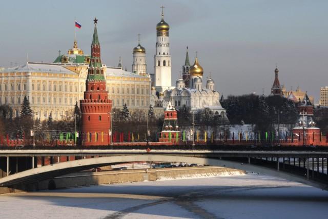 Väterchen Frost regiert in Moskau