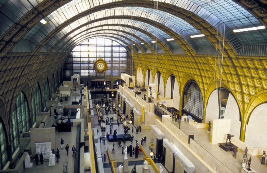 Europa Frankreich Paris Bahnhöhe, dpa