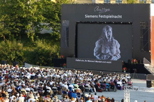 'Die Walküre' - Public Viewing der Bayreuther Festspiele