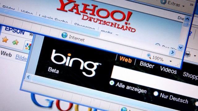 Bündnis Microsoft und Yahoo gegen Google