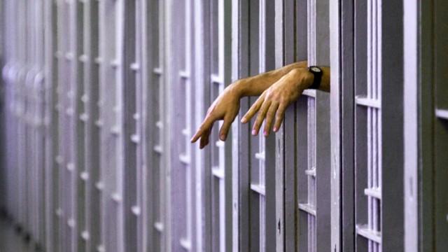 Volksinitiative zur Todesstrafe in der Schweiz: Im Bild:Ein Häftling im Todestrakt eines US-amerikanischen Gefängnisses.