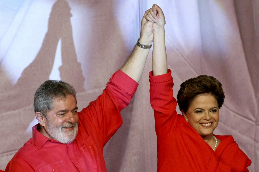 Dilma Rousseff will Brasiliens Präsidentin werden