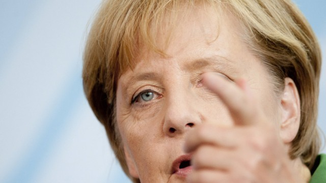 Bundeskanzlerin Merkel empfaengt slowakische Ministerpraesidentin Radicova