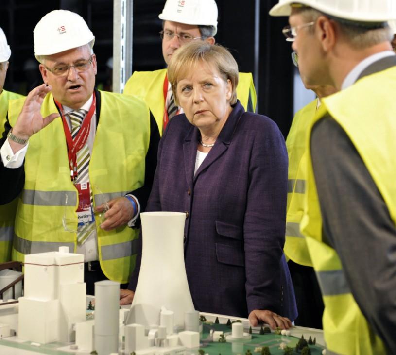 Merkel setzt 'Energie-Reise' fort  - Lünen