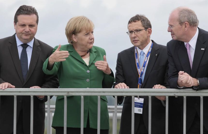 Angela Merkel auf Energiereise