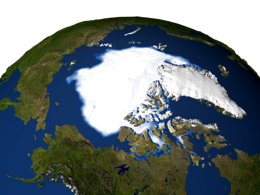 Arktis Kohlenstoff