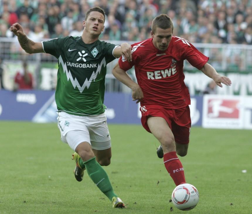 Marko Arnautovic, Lukas Podolski