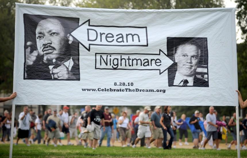 Jahrestag von der 'I have a Dream'-Rede von Martin Luther King
