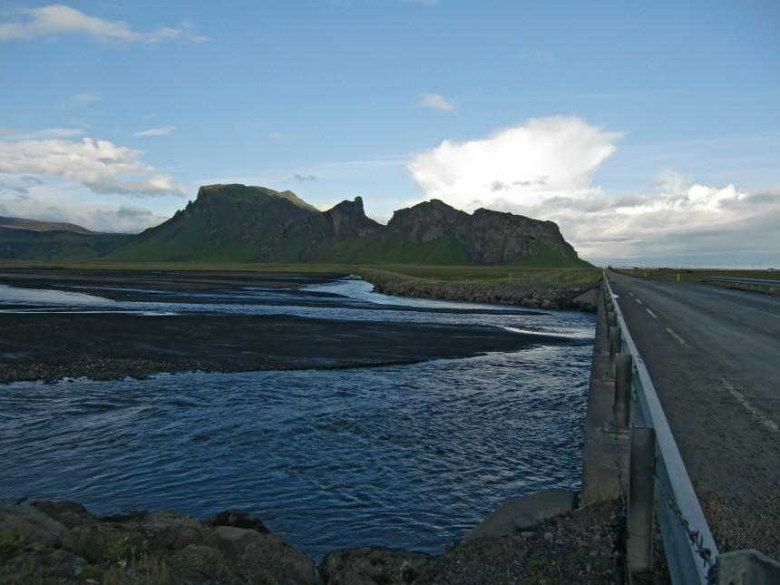 Island Reise Vulkan