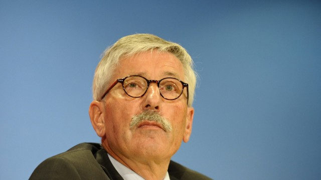 Buchvorstellung 'Deutschland schafft sich ab'
