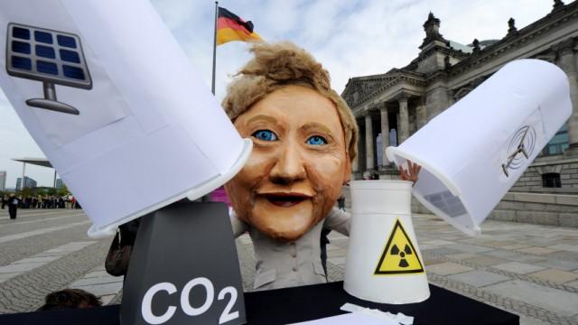 Protest gegen Energiepolitik