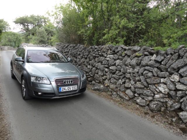 Audi A6 Europafahrt