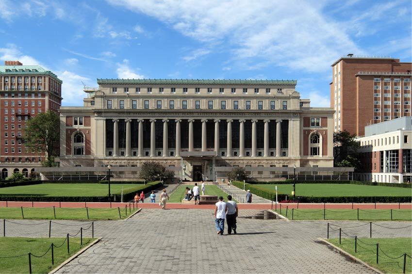 Universität Yale, Princeton, ETH Zürich, Columbia, MIT Boston