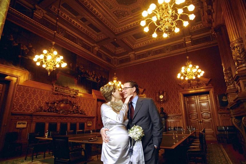 Kai Diekmann und Frau Katja Kessler/ Hochzeit