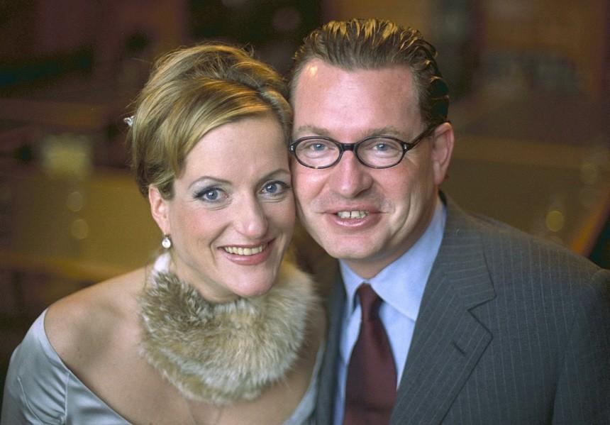Kai Diekmann und Ehefrau Katja Kessler