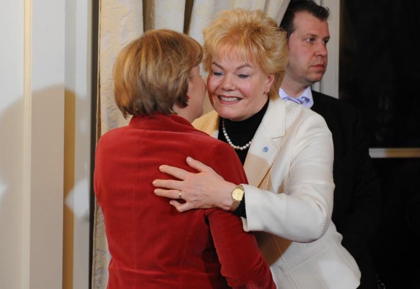 Angela Merkel und Erika Steinbach