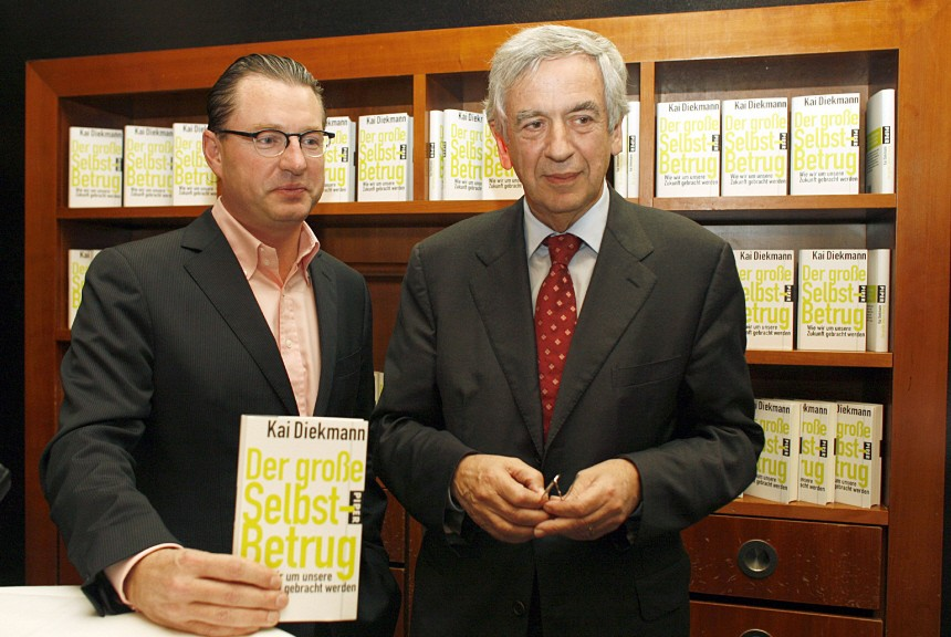 Kai Diekmann stellt Buch vor