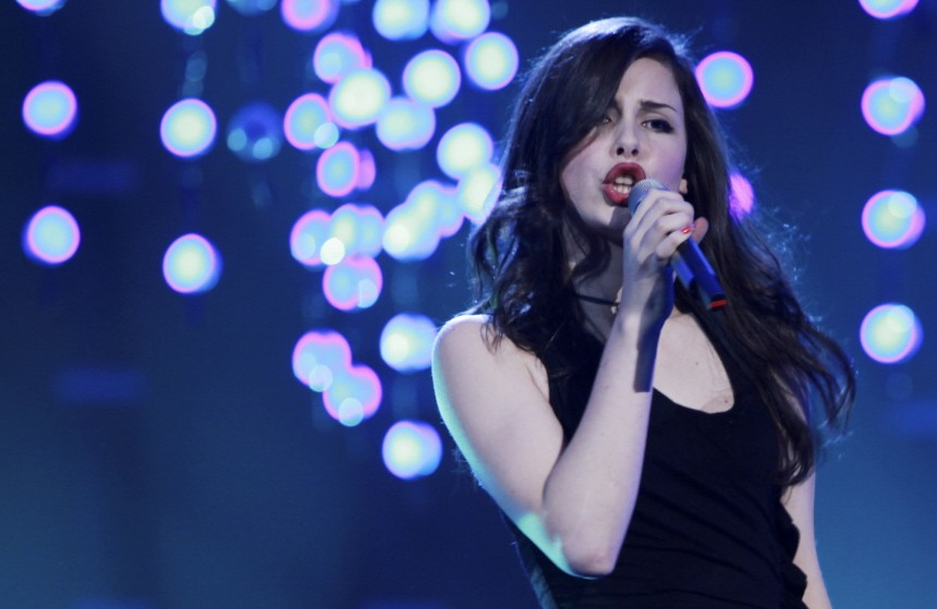 Lena Meyer Landrut probt in Oslo für den Eurovision Songcontest