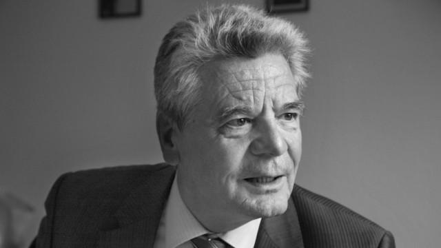 Joachim Gauck; Foto: Regina Schmeken