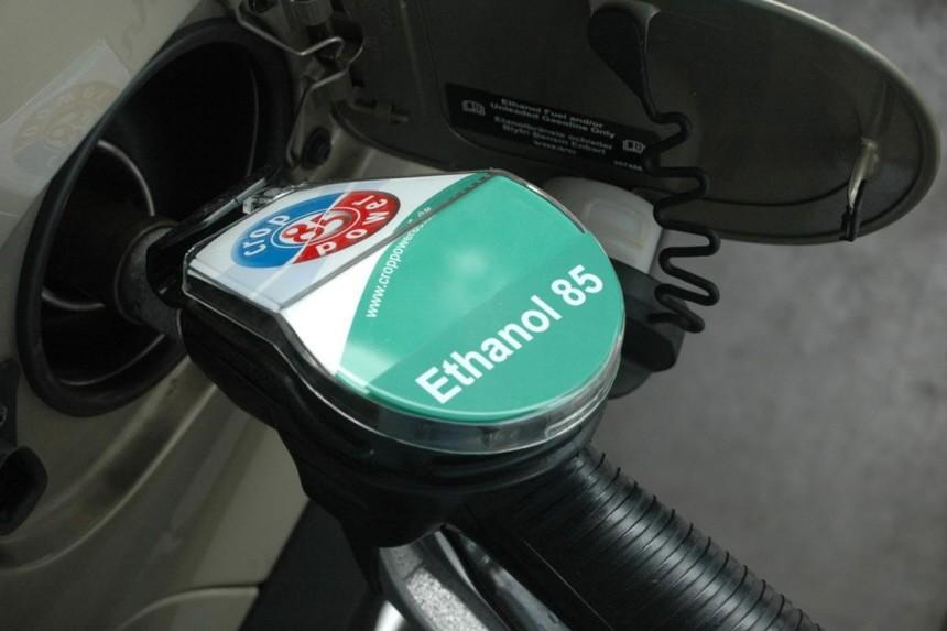 Alternative Antriebe Biokraftstoffe Volvo Biothanol