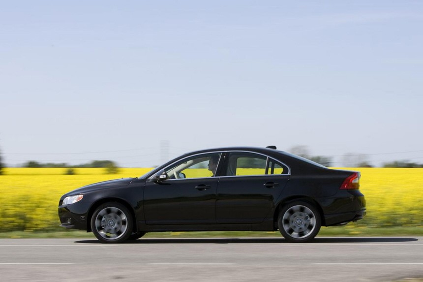 Alternative Antriebe Biokraftstoffe Volvo S80 Bioethanol