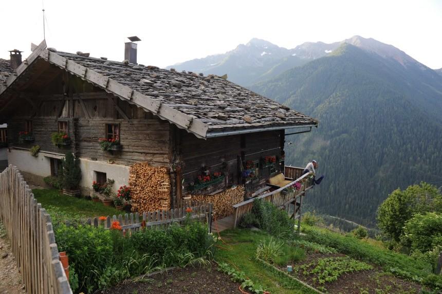 Europa Italien Bergbauernhilfe in Südtirol, Marcel Burkhardt