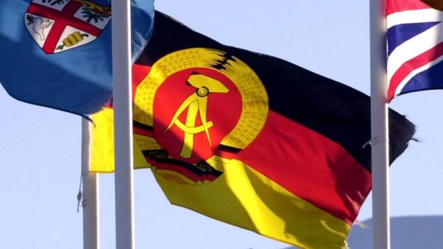 DDR Sport Fahne