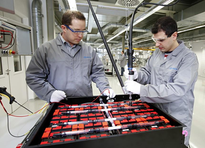 Alternative Antriebe Bosch Li Ionen