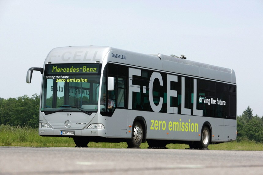 Alternative Antriebe Mercedes-Benz F Cell Bus