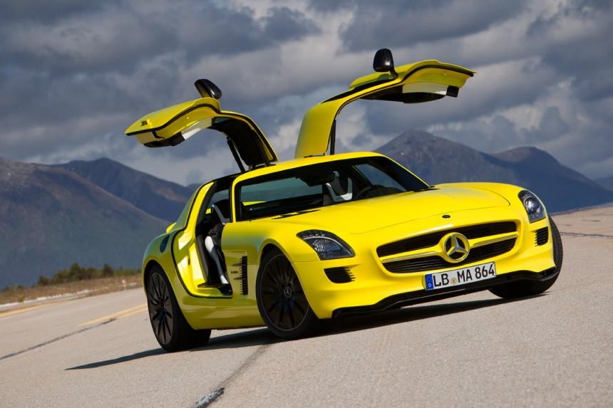 Alternative Antriebe Mercedes SLS AMG E-Cell