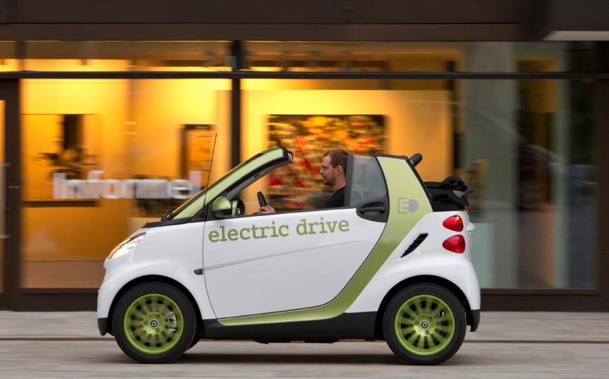 Alternative Antriebe Smart edrive