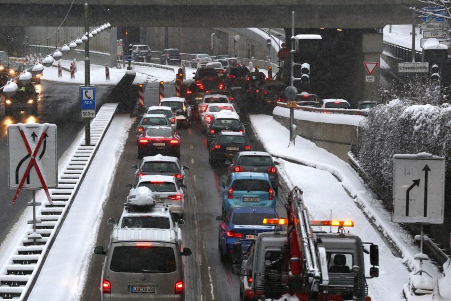 Winterchaos in München - Kalt erwischt - Süddeutsche.de
