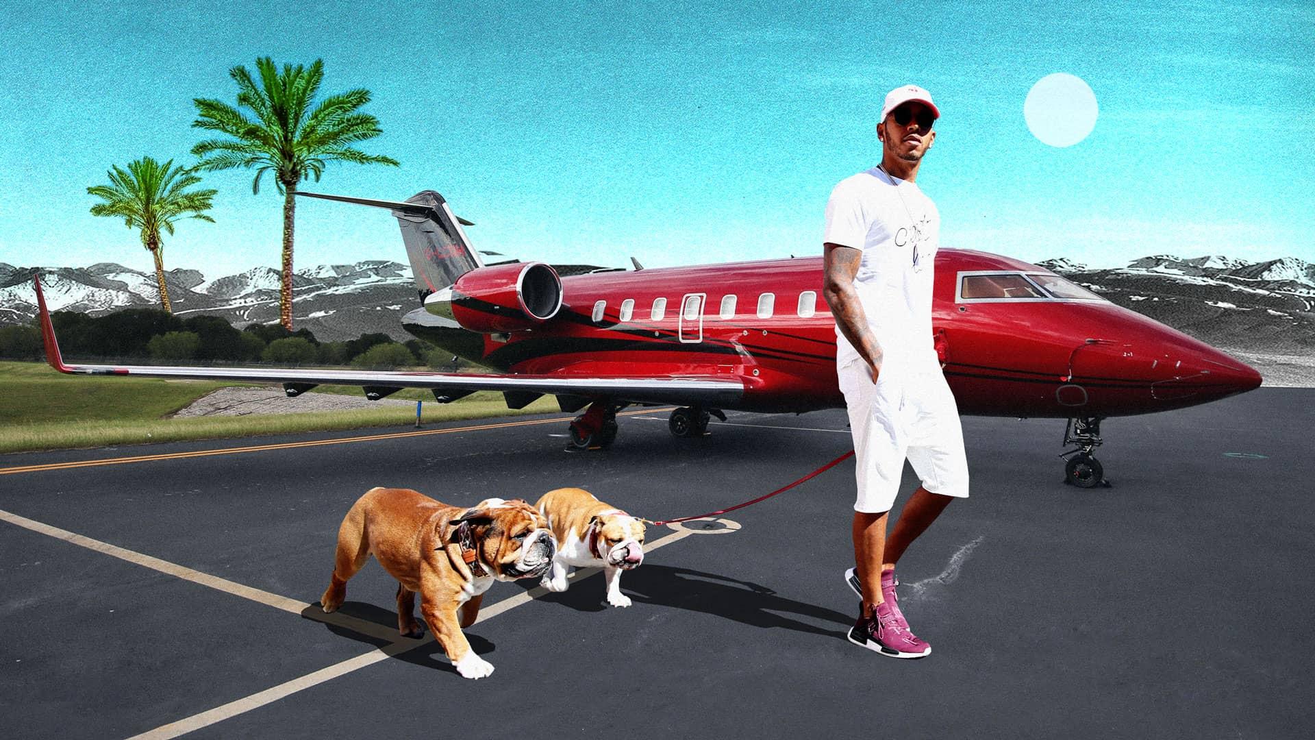 Lewis Hamilton und die Millionen-Masche
